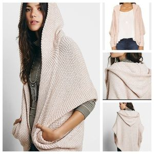 Free People Never Worn Hooded Cocoon